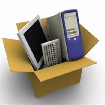 Como embalar um computador para mudança